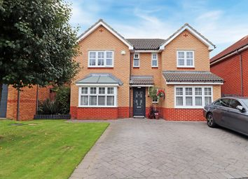 Thumbnail 4 bed detached house for sale in Clover Drive, Hartlepool