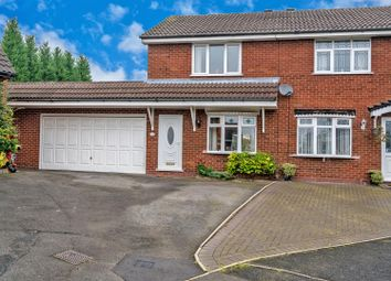 Thumbnail 2 bed semi-detached house for sale in Bond Way, Hednesford, Cannock