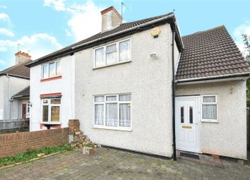 Thumbnail 3 bed end terrace house for sale in Crossway, Pinner, Middlesex