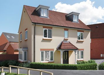 "Thumbnail 5 bed detached house for sale in ""The Lutyens"" at Wood Lane, Binfield, Bracknell"