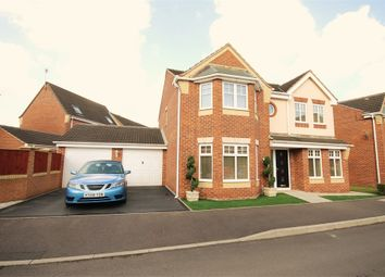 Thumbnail 4 bedroom detached house for sale in Quartz Avenue, Mansfield, Nottinghamshire
