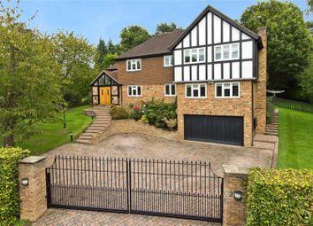 Thumbnail 5 bed detached house for sale in Parkfields, Oxshott, Leatherhead, Surrey