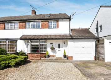 Thumbnail 4 bed semi-detached house for sale in Rochester Avenue, Woodley, Reading, Berkshire