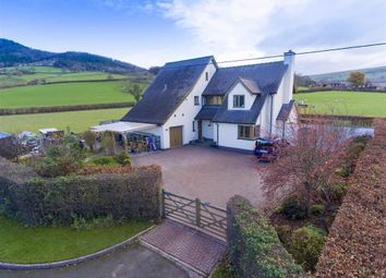 Thumbnail 5 bed detached house for sale in Trewern, Welshpool