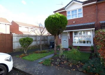 Thumbnail 2 bedroom end terrace house to rent in Lordswood Close, Redditch