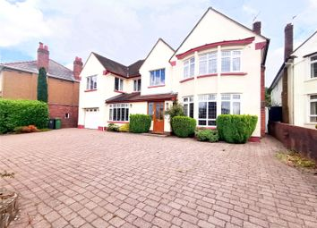 Thumbnail 5 bed detached house for sale in Cyncoed Road, Cyncoed, Cardiff
