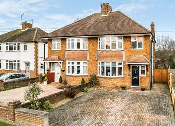 Thumbnail 3 bed semi-detached house for sale in Parkway, Horley, Surrey