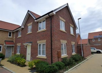 Thumbnail 3 bed end terrace house for sale in Tintern Drive, Monksmoor Park, Daventry