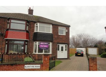 Thumbnail 3 bed semi-detached house for sale in Blantyre Road, Normanby