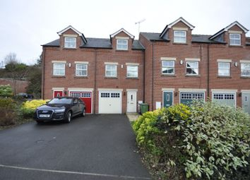 Thumbnail 3 bed town house to rent in Jaeger Close, Belper