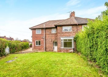 Thumbnail 4 bed semi-detached house for sale in Weston Road, Littleworth, Stafford, Staffordshire