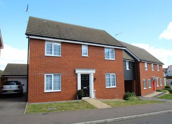 Thumbnail 4 bed detached house for sale in Peregrine Drive, Stowmarket