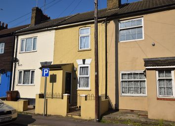Thumbnail 2 bed terraced house for sale in Luton Road, Chatham, Kent