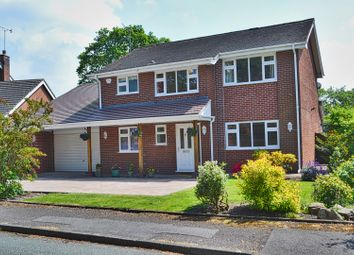 Thumbnail 4 bed detached house for sale in Cedar Court, Congleton