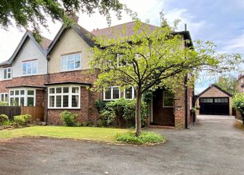 Thumbnail 4 bed semi-detached house for sale in Hawthorn Lane, Wilmslow