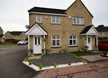 Thumbnail 2 bed semi-detached house for sale in Magpie Close, Queensbury, Bradford