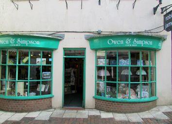 Thumbnail Retail premises for sale in Unit 7 Antelope Walk, Dorchester