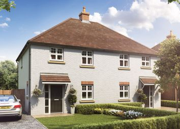 "Thumbnail 3 bed semi-detached house for sale in ""The Willingham "" at Ringwood Road, Verwood"