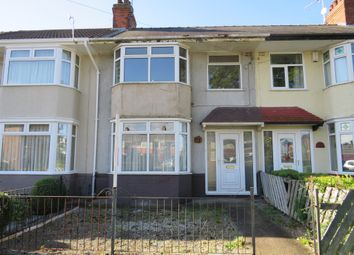 Thumbnail 3 bed terraced house for sale in Colville Avenue, Hull