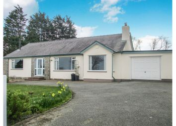 Thumbnail 4 bed detached bungalow for sale in Amlwch Road, Tyn-Y-Gongl