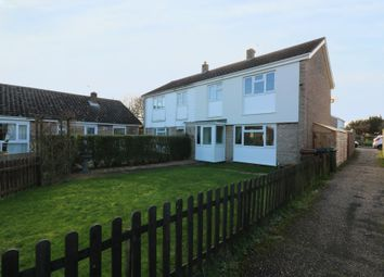 Thumbnail 3 bed semi-detached house for sale in Beech Way, Dickleburgh, Diss