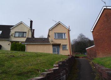 Thumbnail 3 bed semi-detached house to rent in Dan Y Cribyn, Ynysybwl, Pontypridd