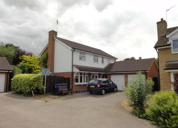 Thumbnail 4 bed detached house to rent in Thistledown Drive, Ixworth, Bury St. Edmunds
