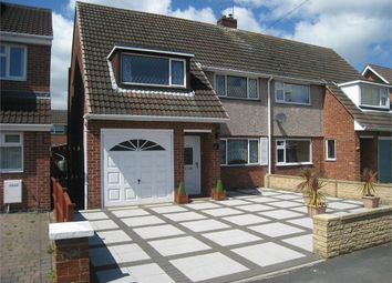 Thumbnail 3 bed semi-detached house to rent in Kenilworth Road, Wigston, Leicestershire