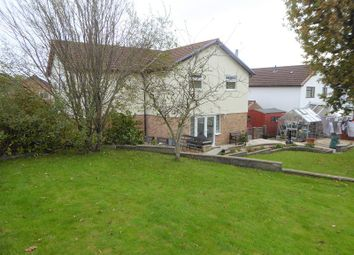 Thumbnail 4 bed detached house for sale in Angelton Green, Pen-Y-Fai, Bridgend County.