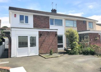 Thumbnail 4 bed semi-detached house for sale in Bearsdown Road, Eggbuckland, Plymouth