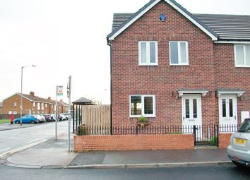 Thumbnail 3 bed terraced house to rent in Seventh Avenue, Ashington