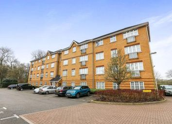 Thumbnail 2 bed flat for sale in Saxon House, Aylward Drive, Stevenage, Hertfordshire