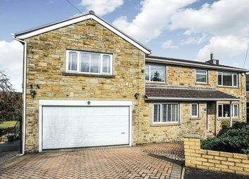 Thumbnail 4 bed detached house for sale in Lees Close, Cullingworth, Bradford