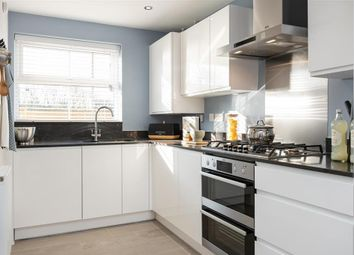 """Thumbnail 2 bed terraced house for sale in """"The Dunnock - Plot 176"""" at Cheesemans Green Lane, Kingsnorth, Ashford"""