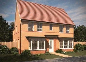"Thumbnail 4 bed detached house for sale in ""Alnwick"" at Carters Lane, Kiln Farm, Milton Keynes"
