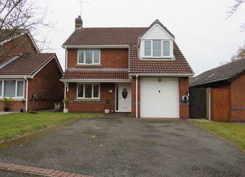 Thumbnail 4 bed detached house for sale in Haycroft Close, Great Sutton, Ellesmere Port
