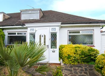 Thumbnail 2 bed semi-detached bungalow for sale in The Grove, Edgware
