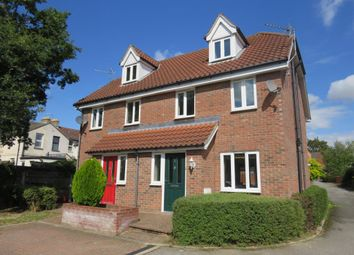 3 bed town house to rent in Putney Close, Ipswich IP1