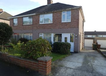 Thumbnail 3 bedroom semi-detached house to rent in Crossway, Plympton, Plymouth