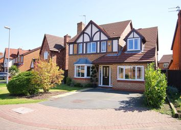 Thumbnail 4 bed detached house for sale in Vermont Close, Great Sankey, Warrington