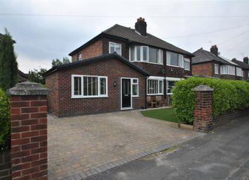 Thumbnail 3 bed semi-detached house for sale in Bernard Avenue, Appleton, Warrington
