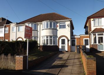 Thumbnail 3 bed semi-detached house to rent in Richmond Road, Solihull