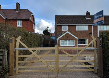 Thumbnail 3 bedroom semi-detached house for sale in Forstal Road, Woolage Village, Canterbury