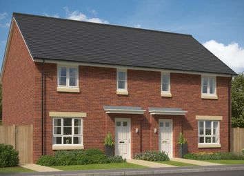 """Thumbnail 3 bed semi-detached house for sale in """"Traquair"""" at Castlelaw Crescent, Bilston, Roslin"""