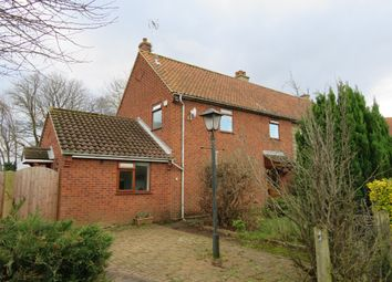 Thumbnail 3 bedroom semi-detached house for sale in Rosebery Road, Great Plumstead, Norwich