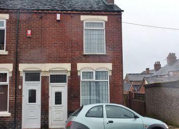 Thumbnail 2 bed end terrace house for sale in Gordon Street, Burslem