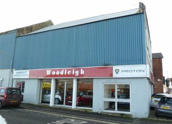 Thumbnail Commercial property to let in Woodleigh Motor Sales - Showroom, 34, Chatsworth Road, Brampton, Chesterfield
