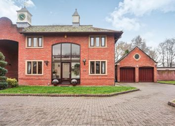 Thumbnail 4 bed link-detached house for sale in Chester Road, Oakmere, Northwich