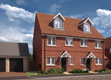 """Thumbnail 3 bedroom semi-detached house for sale in """"Ickhurst"""" at Chaloner Way, Newmarket"""