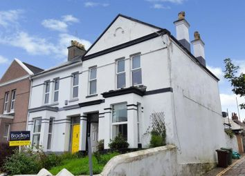 Thumbnail 2 bed flat for sale in Furzehill Road, Plymouth, Devon